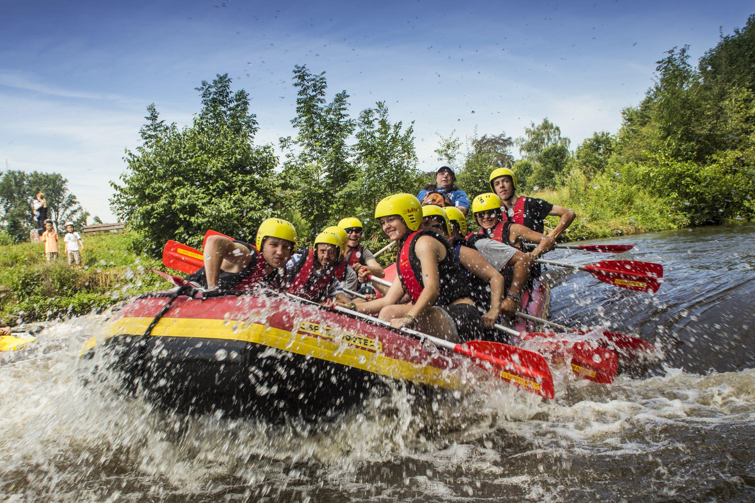 River Rafting auf der Erft